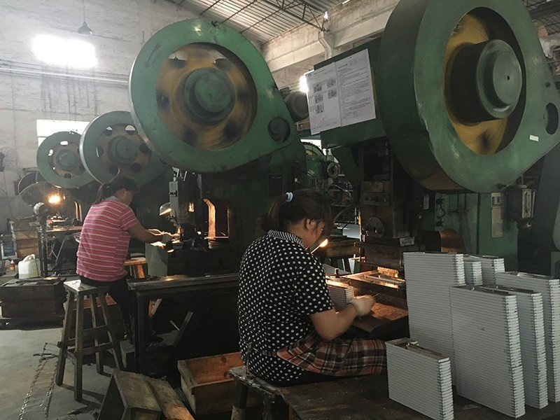 Factory, mechanical equipment picture