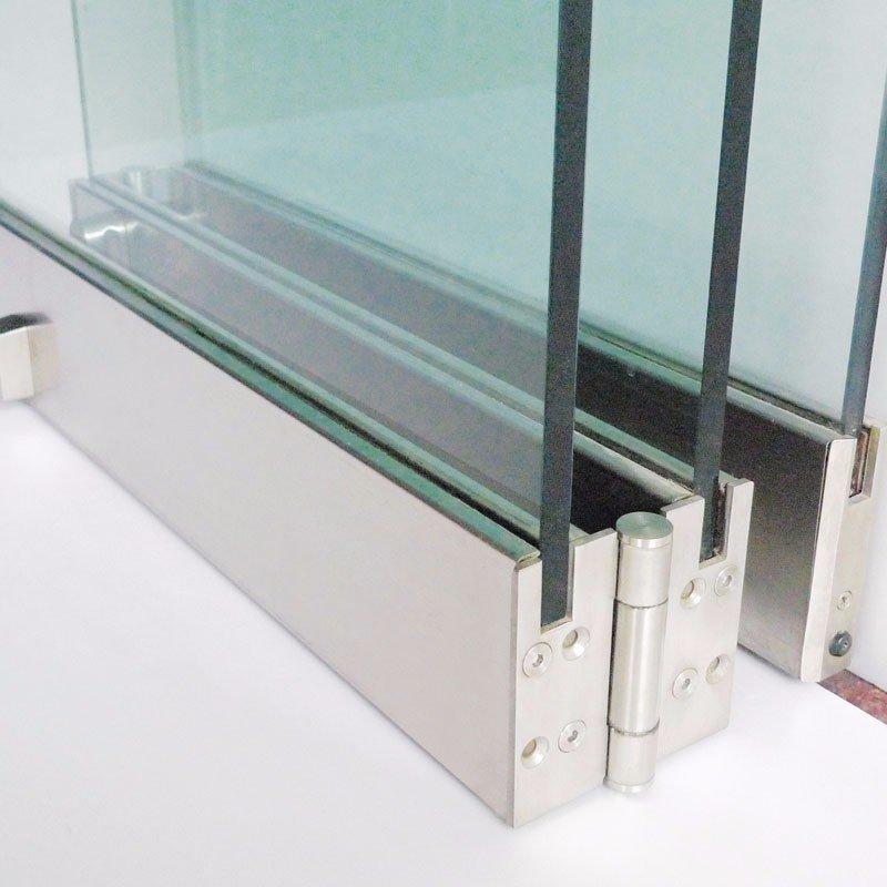 Folding Glass Partition Frameless Door - FD9000