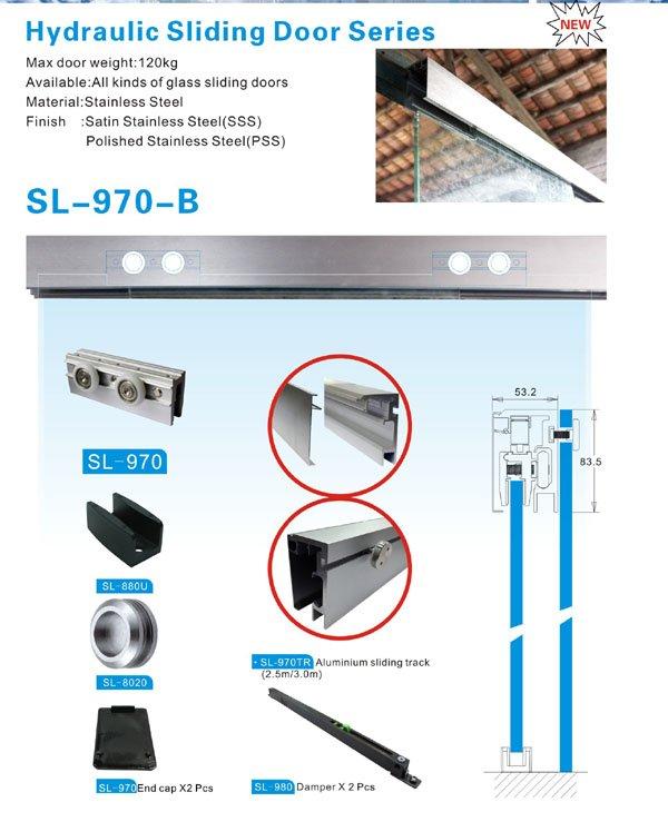 China heavy GAC oem SAHARA Glass HARDWARE sliding door systems