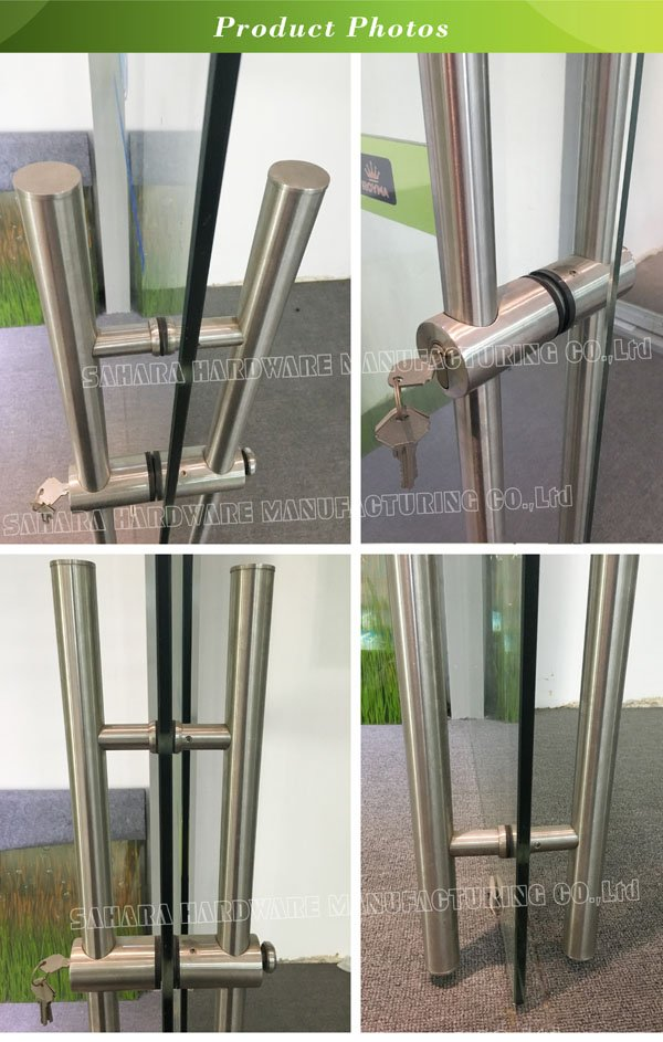 OEM handles for glass doors door Stain glass handles for doors