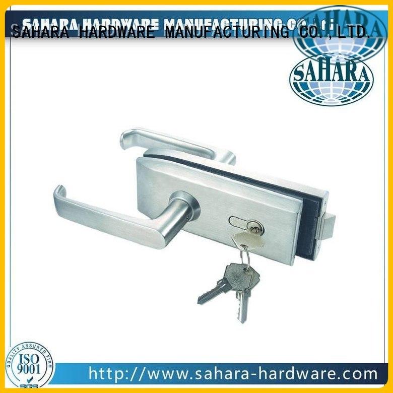 SAHARA Glass HARDWARE Brand China sliding ROYMA bathroom glass door lock manufacture