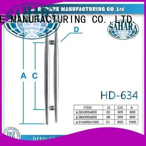 China PSS stainless glass handles for doors SAHARA Glass HARDWARE