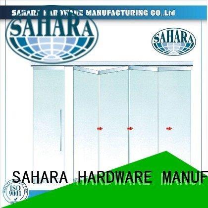 glass door gas lift struts partition SAHARA Glass HARDWARE