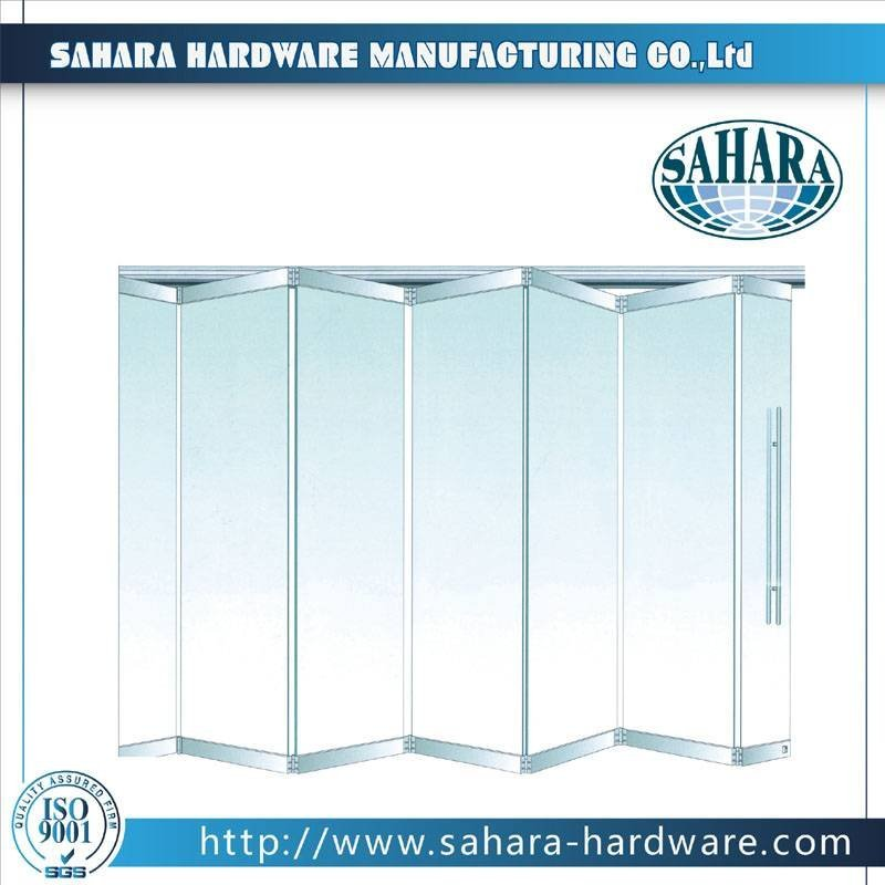 Folding Glass Partition System - FD9000M