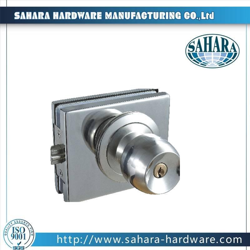 Stainless Steel Glass Door Lock-FT-59