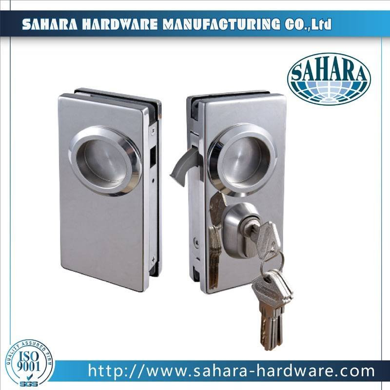Aluminum Sliding Glass Door Lock-FT-56