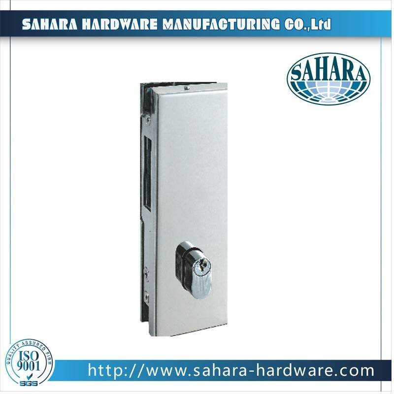 Stainless Steel Glass Lock-FT-58
