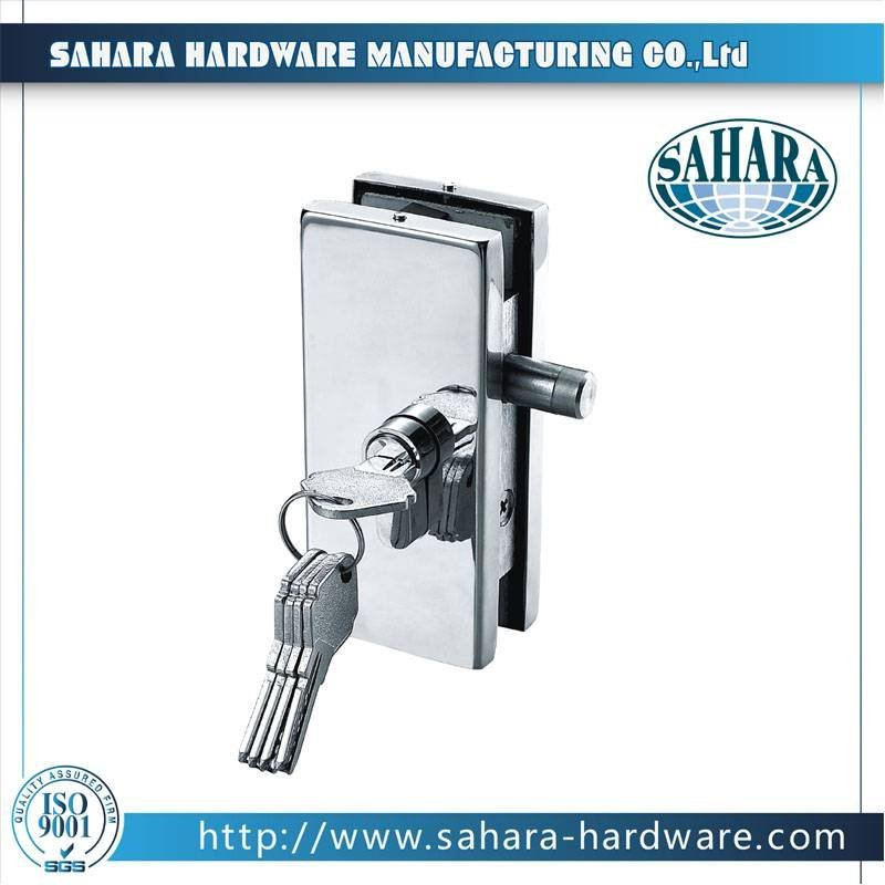 Stainless Steel Glass Door Lock-FT-70