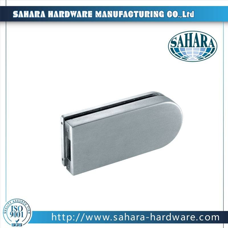China Stainless Steel Brass Cylinders Glass Door Lock-FT-037K