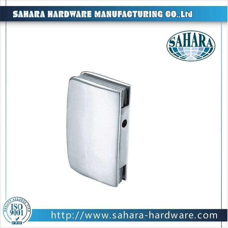 China Stainless Steel Brass Cylinders Glass Door Lock-SH-33-50K