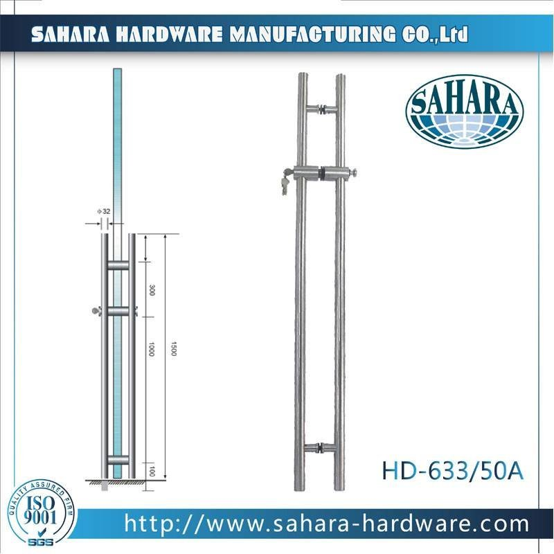 Stainless Steel Door Handles-D-633-50A