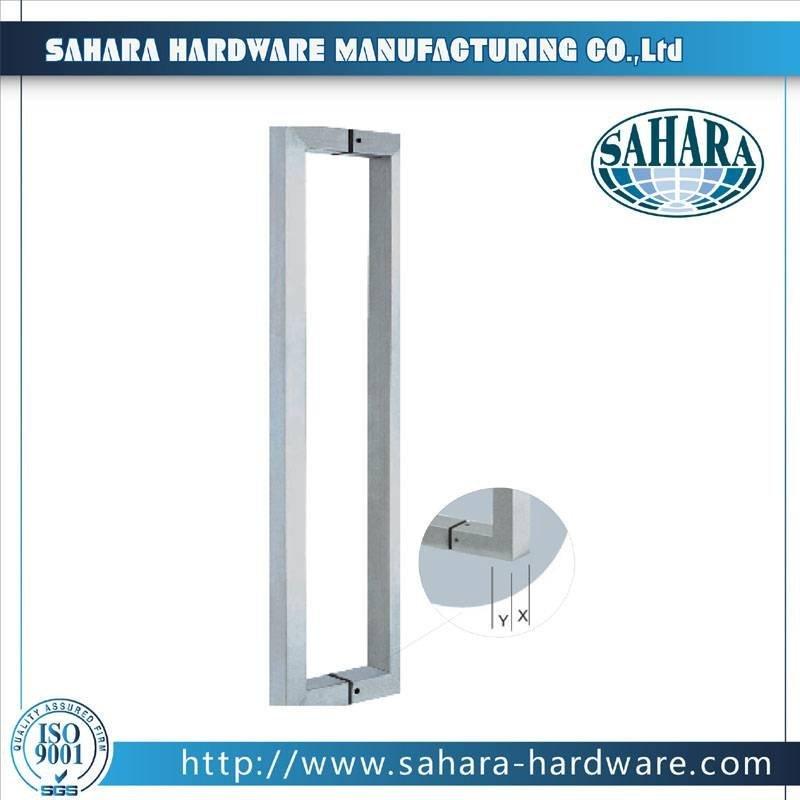 Stainless Steel Door Handles-HD-627SQ1