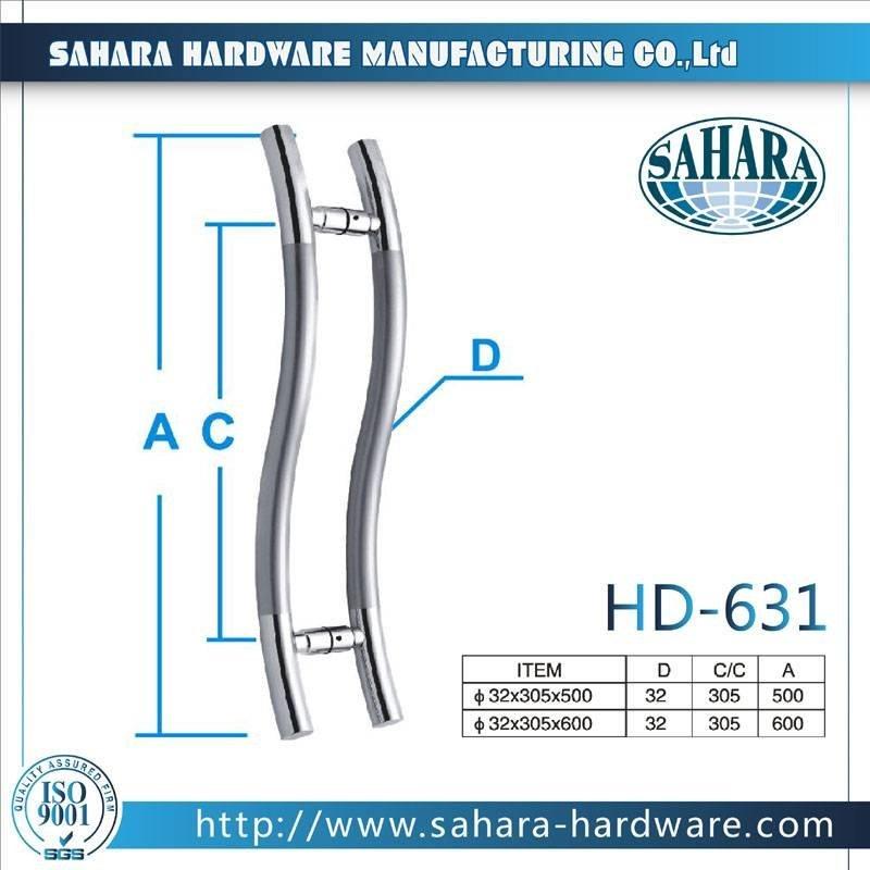 China Stainless Steel Door Handles-HD-631