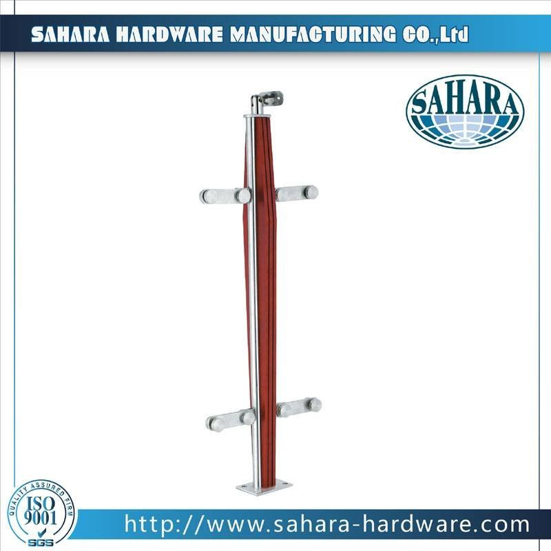 Frameless Glass Balustrade Spigots-HJ-036