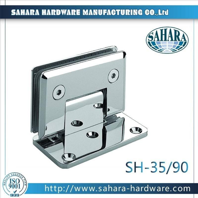 Frameless Bathroom Shower Door Hinges-SH-35-90