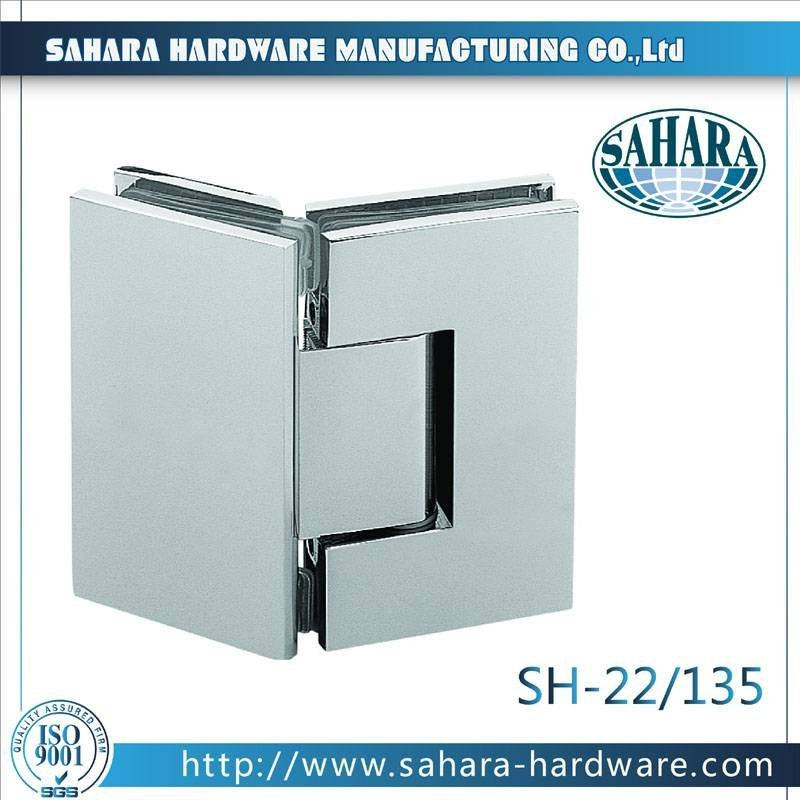 Bathroom Glass Door Hinges-SH-22-135