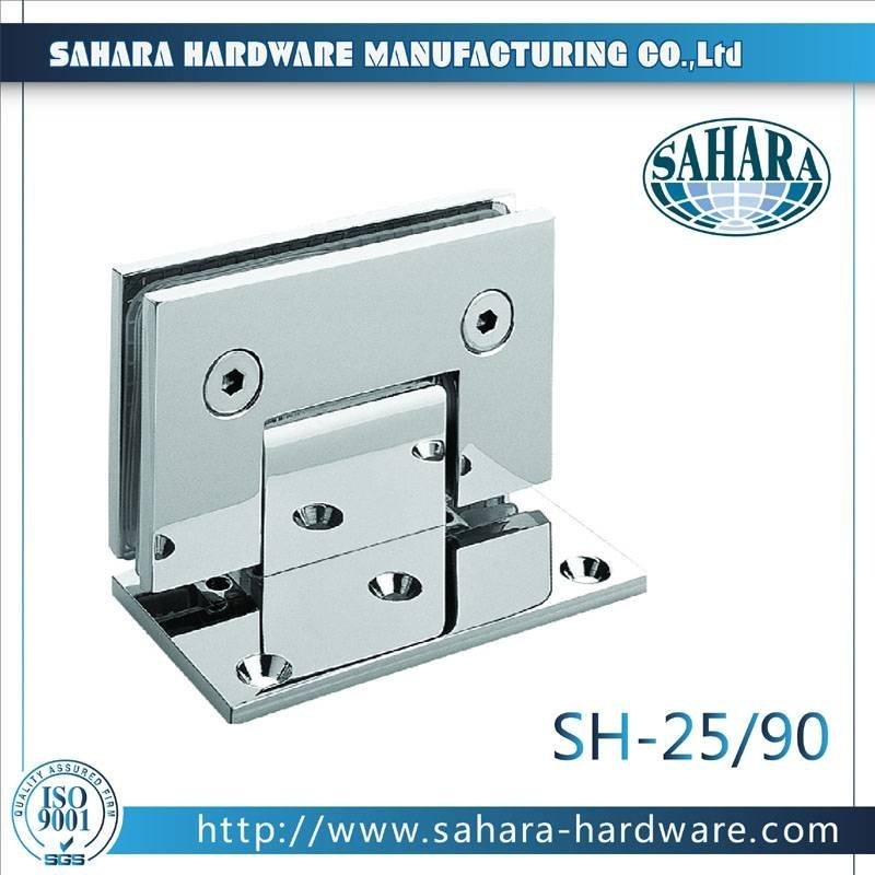 Bathroom Glass Door Hinges-SH-25-90