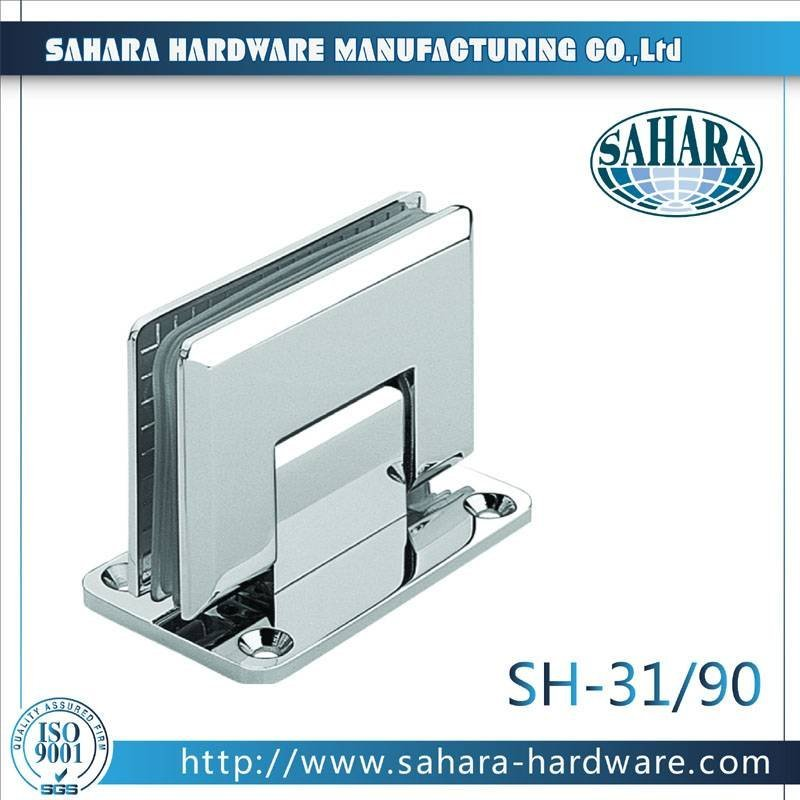 Frameless Bathroom Shower Door Hinges-SH-31-90