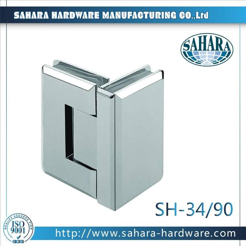 Frameless Bathroom Shower Door Hinges-SH-34-90