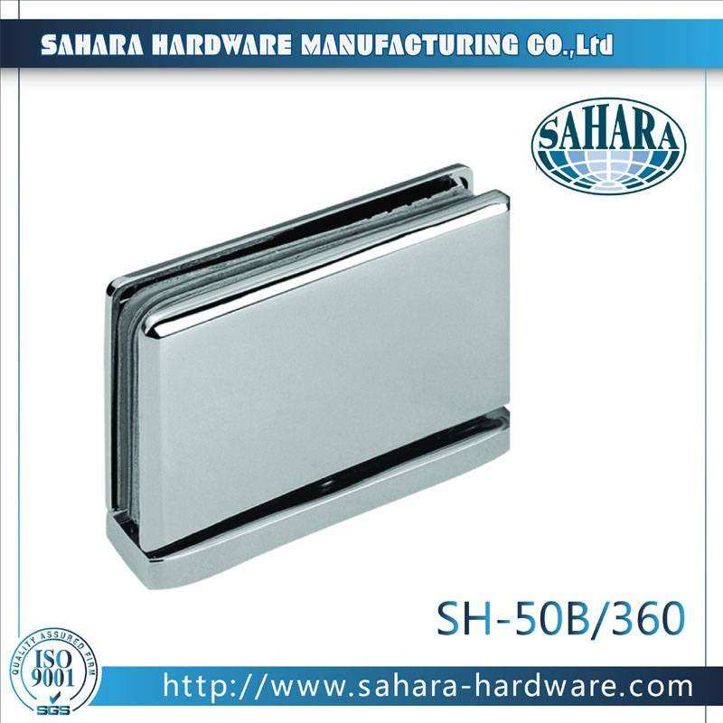 Frameless Bathroom Shower Door Hinges-SH-50B-360