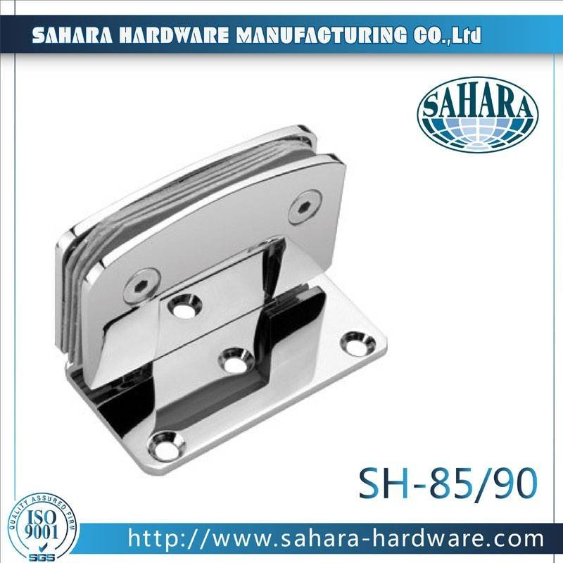 Frameless Bathroom Shower Door Hinges-SH-85-90