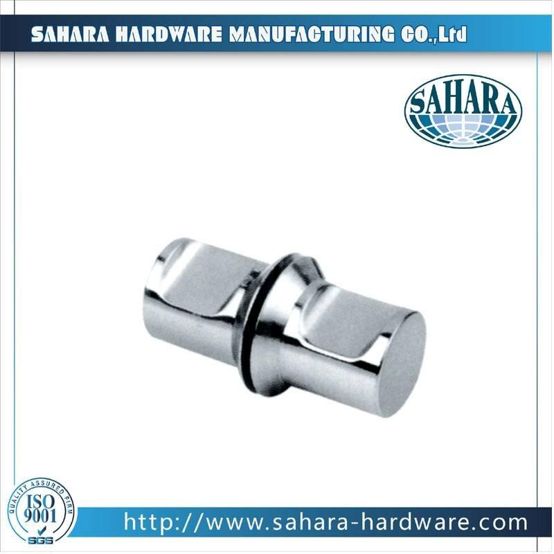 China Brass Round Glass Shower Door Knob-SH-750