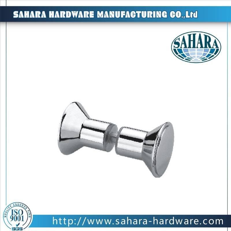 China Brass Square Shower Knob-SH-8004