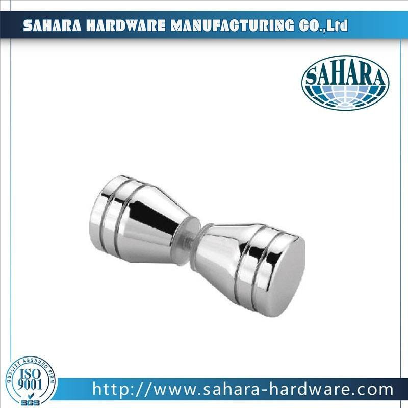 China Brass Square Shower Knob-SH-8007