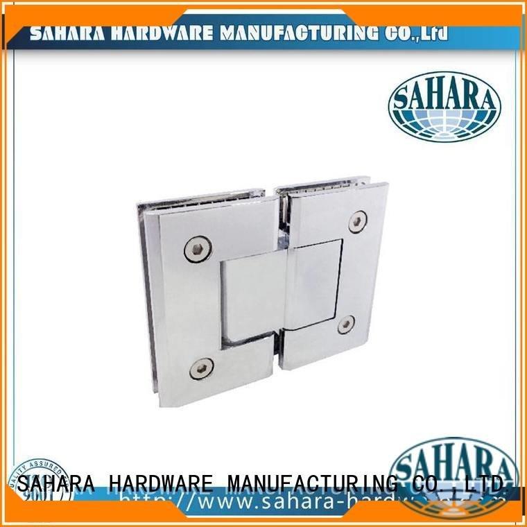 frameless glass Custom glass door hinges Steel Stainless Brass SAHARA Glass HARDWARE