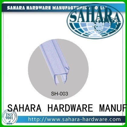 Hot pvc shower seal strip glass Door Brass SAHARA Glass HARDWARE Brand