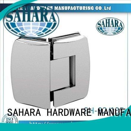 glass door hinges GAC SAHARA door Steel SAHARA Glass HARDWARE