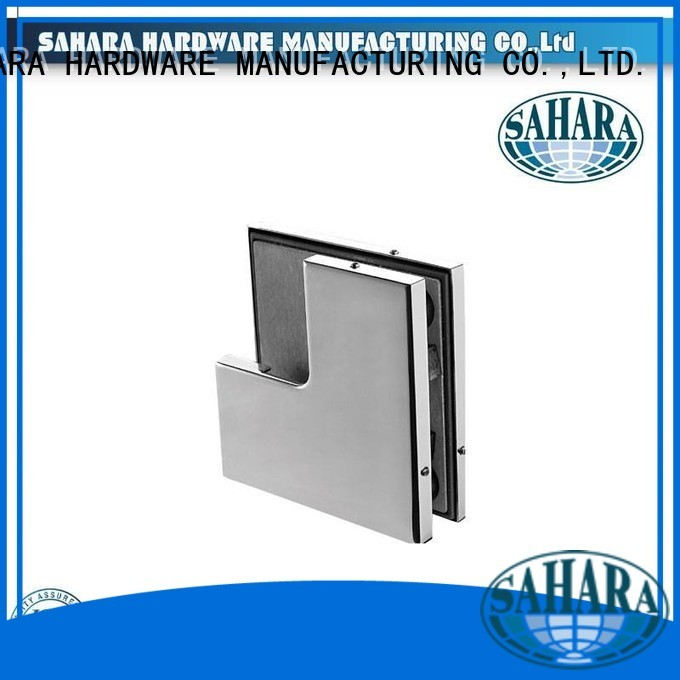 hydraulic China Stainless steel cover patch fitting glass door SAHARA Glass HARDWARE manufacture