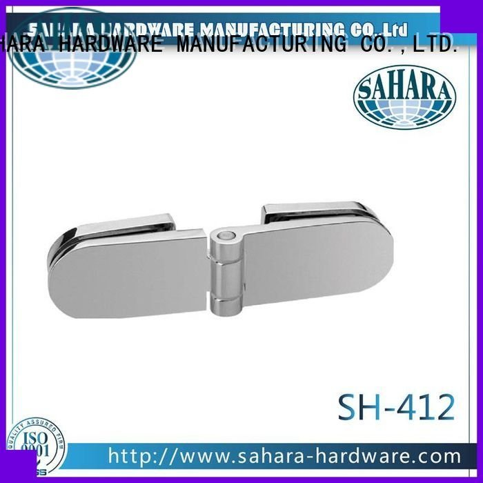 SAHARA Glass HARDWARE Brand GAC glass glass to glass connectors China Brass