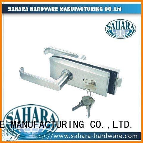 SAHARA Glass HARDWARE Brand stainless Aluminium sliding trak sliding bathroom glass door lock