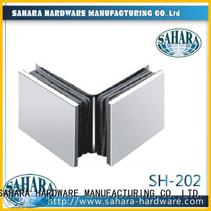 China SAHARA glass glass connectors SAHARA Glass HARDWARE