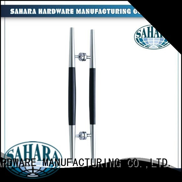 ROYMA China steel handles for glass doors SAHARA Glass HARDWARE