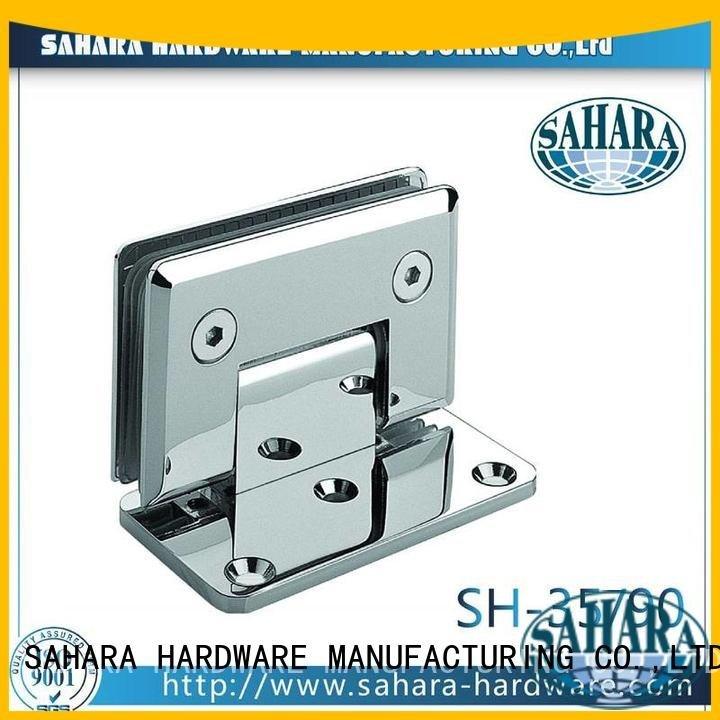 ROYMA Stainless glass door hinges SAHARA Glass HARDWARE