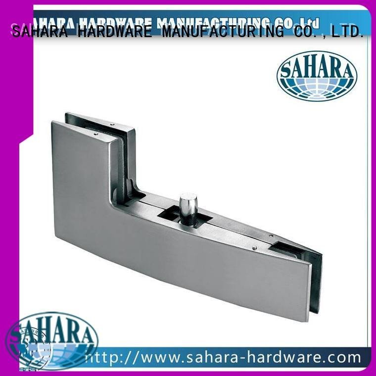Quality patch fitting glass door SAHARA Glass HARDWARE Brand Aluminium body glass door patch fitting