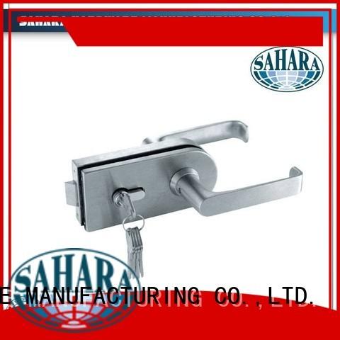 SAHARA China commercial glass door locks steel sliding SAHARA Glass HARDWARE Brand
