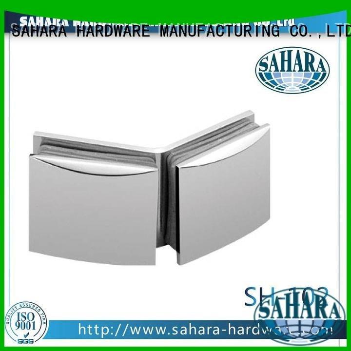 SAHARA Glass HARDWARE China glass connectors Brass glass