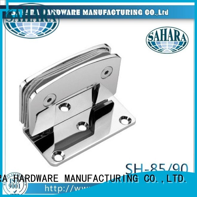 Stainless China glass door hinges SAHARA Glass HARDWARE manufacture