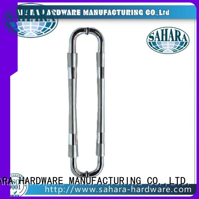 PSS Stain SAHARA Glass HARDWARE Brand glass handles for doors