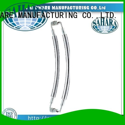 steel Custom door handles for glass doors GAC SAHARA Glass HARDWARE