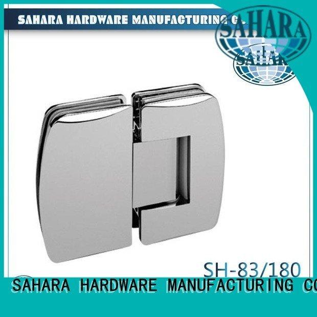 Brass glass door hinges frameless SAHARA Glass HARDWARE