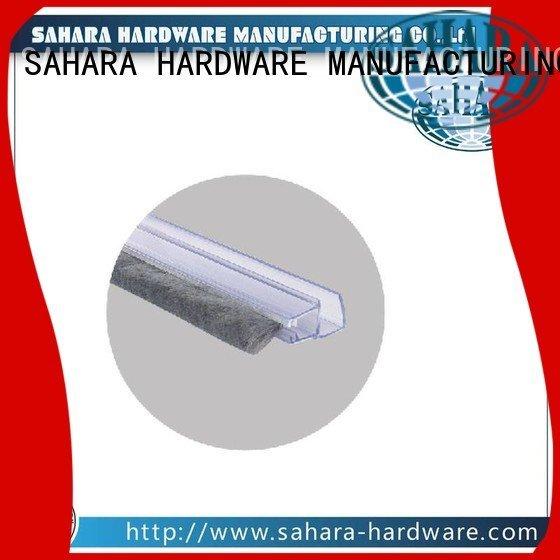 GAC glass SAHARA pvc shower seal strip SAHARA Glass HARDWARE