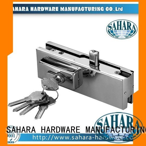 SAHARA Glass HARDWARE glass door patch fitting Stainless steel cover door hydraulic ROYMA