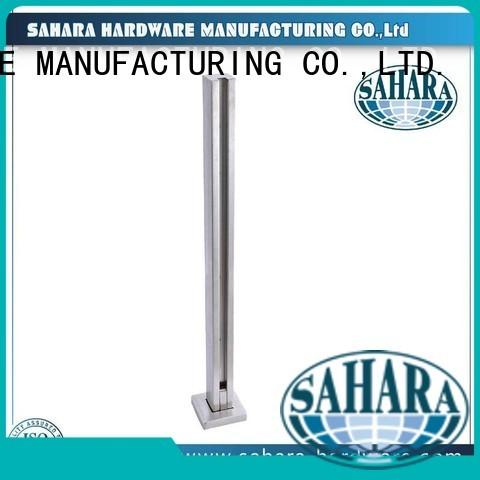 GAC balustrade SAHARA steel shower door hinges glass to glass SAHARA Glass HARDWARE Brand