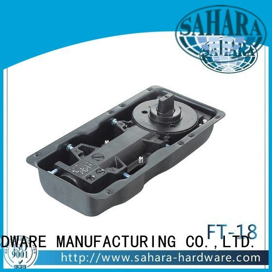 SAHARA Glass HARDWARE hydraulic floor hinge steel
