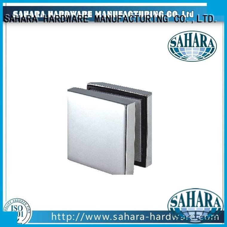Quality patch fitting glass door SAHARA Glass HARDWARE Brand for glass door patch fitting