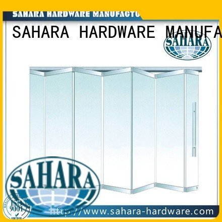 SAHARA Glass HARDWARE folding glass walls partition glass 55mm spacing